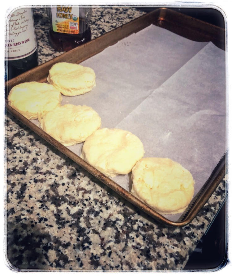 Biscuit dough - ready to bake